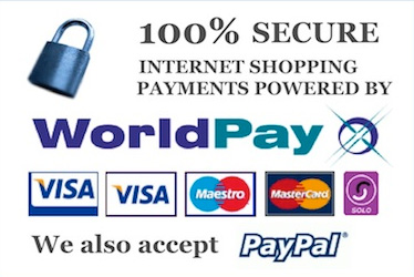 Pay by phone using Worldpay on online via Paypal. 10% discount via credit card.